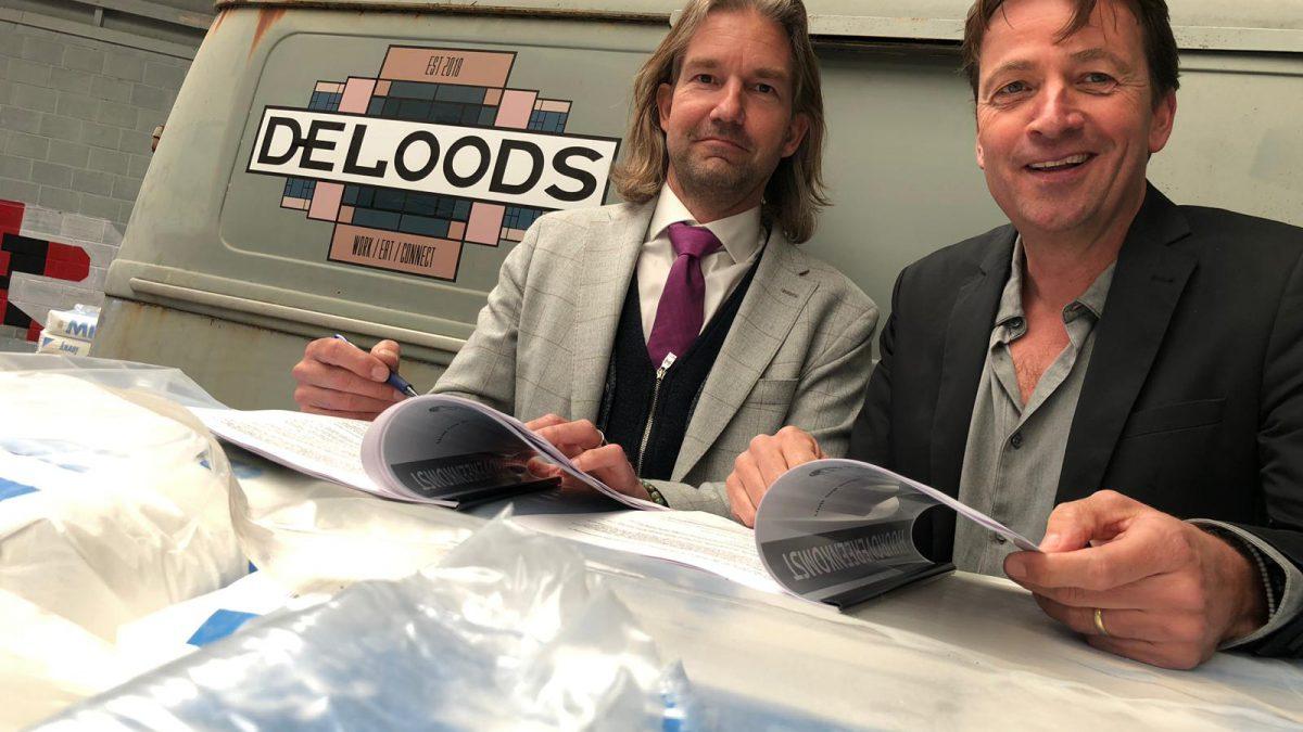 Links Roger Pels bedenker en eigenaar van het ecosysteem en Bernard Krikke eigenaar Dutch Angle TV